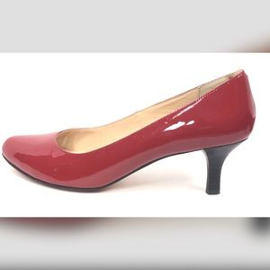 Cole Haan Tango Red Patent Leather Pumps Size 9